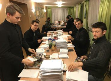 Wizyta Alumnów Grupy Misyjnej w Pallotyńskim Sekretariacie Misyjnym