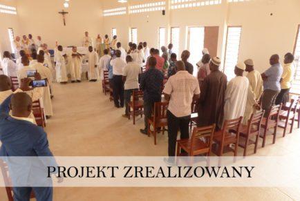 Dom formacyjny i kaplica w Abobo – Wybrzeże Kości Słoniowej