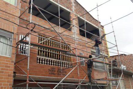 Wykończenie trzeciego piętra w Domu Dziecka (Casa Hogar) – Kolumbia