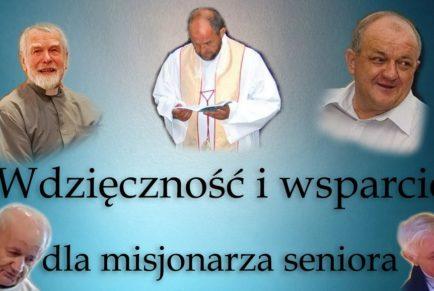Wdzięczność i wsparcie dla misjonarza seniora