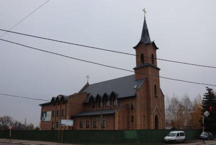 Budowa kościoła i plebanii w Żytomierzu – Ukraina
